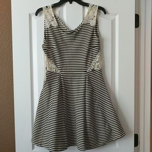 Women's striped size M dress